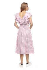 Платье полосатое Le Coeur 2