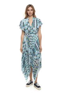 Платье женское в геометрический принт Le Coeur