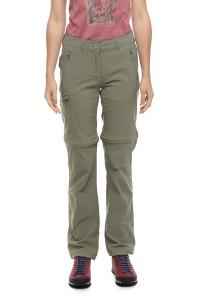 Штаны-шорты женские зеленые летние Craghoppers