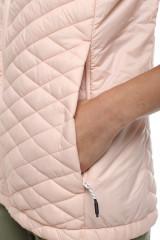 Жилетка женская светло-розовая стеганая Craghoppers