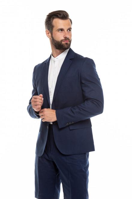 Пиджак мужской темно-синий однобортный Antony Morato