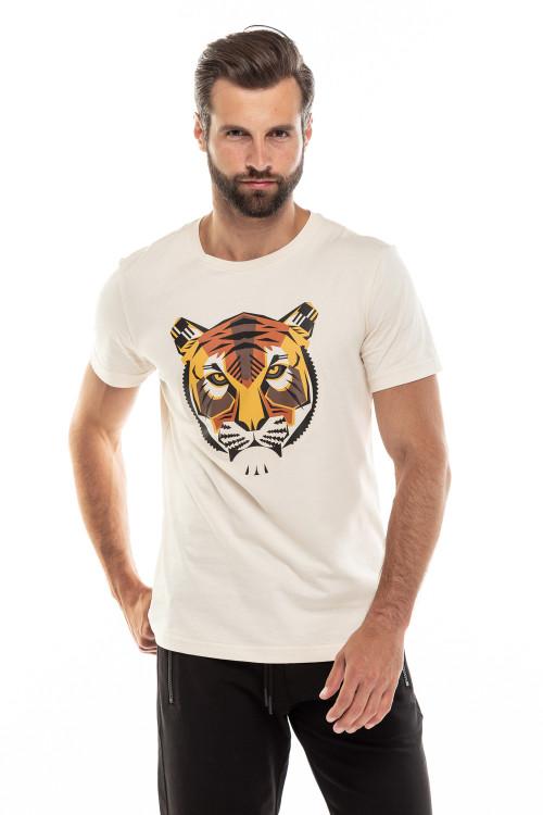 Футболка мужская с изображением тигра Antony Morato