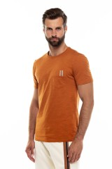 Футболка мужская оранжевая Antony Morato 1