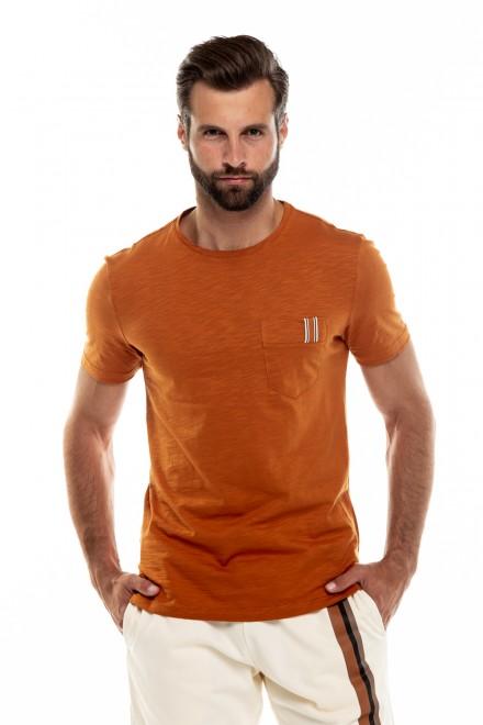 Футболка мужская оранжевая Antony Morato