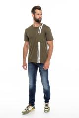 Мужская футболка хаки Junk de Luxe 4