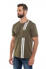 Мужская футболка хаки Junk de Luxe 1