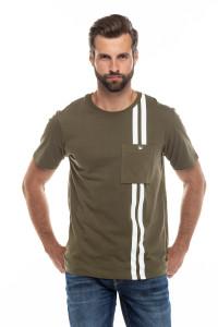 Мужская футболка хаки Junk de Luxe