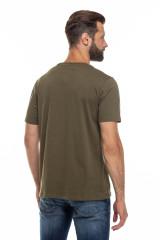 Мужская футболка хаки Junk de Luxe 2