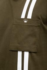 Мужская футболка хаки Junk de Luxe 3