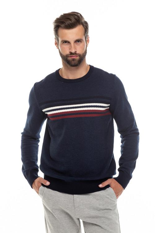 Пуловер мужской с полосками Lindbergh
