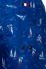 Бордшорты синие в мелкий принт North sails 4