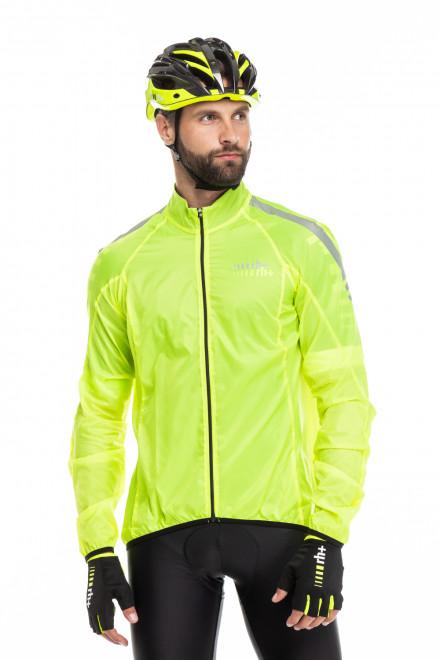 Куртка унисекс ветрозащитная салатовая Zero rh +