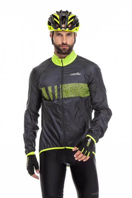 Куртка ветрозащитная (унисекс) облегченная со светоотражающими нанесением Zero rh +
