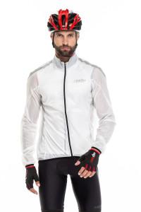 Куртка унисекс белая ветрозащитная Zero rh +