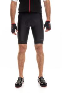 Велошорты мужские черные с символикой Zero rh+
