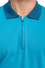 Поло мужское голубого цвета Pal Zileri LAB 3