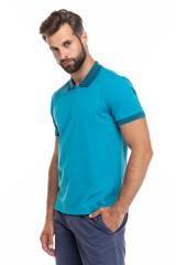 Поло мужское голубого цвета Pal Zileri LAB 1
