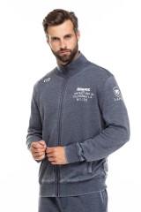 Кардиган мужской серый с карманами Blauer