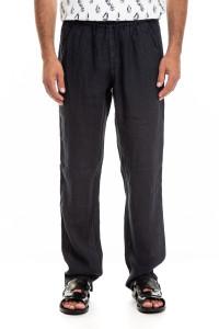 Черные льняные брюки Pal Zileri LAB