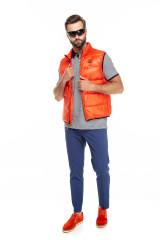 Жилет мужской ярко-оранжевый Blauer.USA 6