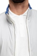 Куртка (ветровка) мужская серая на молнии Harmont & Blaine
