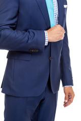 Костюм мужской классический темно-синий Carl Gross 3