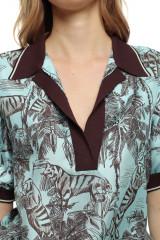 Женская блуза в принт Beatrice .b 4