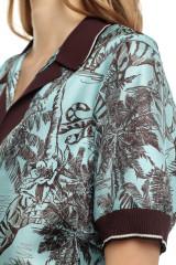 Женская блуза в принт Beatrice .b 5