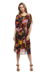 Платье женское летнее с цветочной расцветкой Luisa Cerano