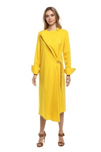 Платье женское желтое Liviana Conti