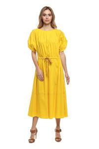 Платье ярко-желтое Liviana Conti