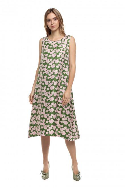 Платье шелковое Luisa Cerano