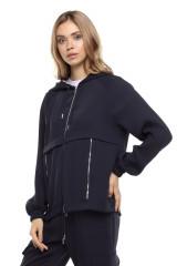 Женская спортивная кофта с капюшоном Rich & Royal 2