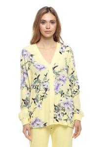 Блуза женская с флористическим принтом Rich & Royal