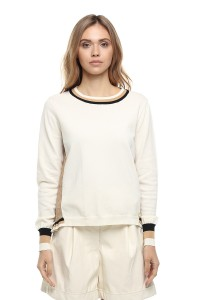 Пуловер женский белый Le Coeur