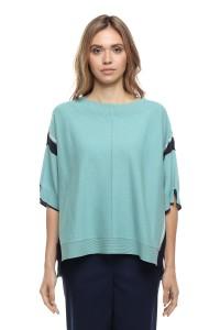 Пуловер женский бирюзовый Le Coeur