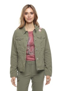 Куртка женская легкая цвета хаки Craghoppers