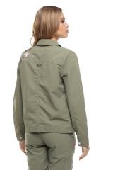 Куртка жіноча хакі Craghoppers 2