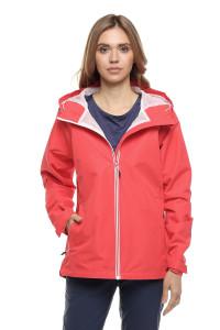 Куртка женская красная с капюшоном Craghoppers