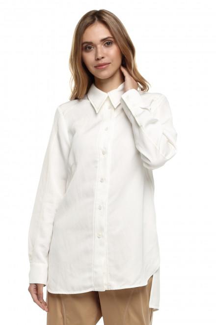 Женская рубашка белого цвета с желтым оттенком Beatrice