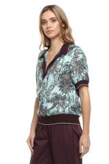 Женская блуза в принт Beatrice .b 1