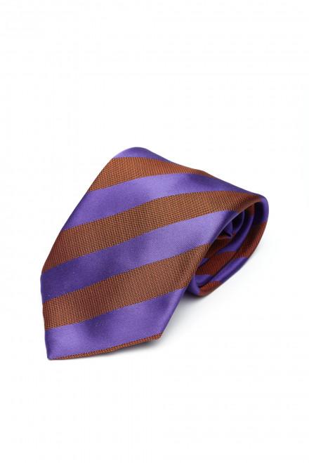 Галстук и платок мужские терракотового цвета Dolcepunta