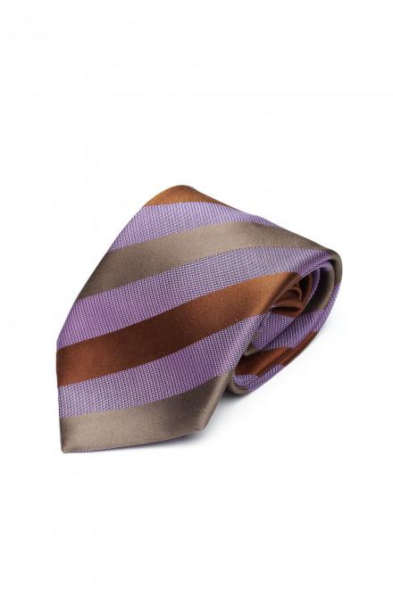 Галстук и платок мужские двухцветные Dolcepunta