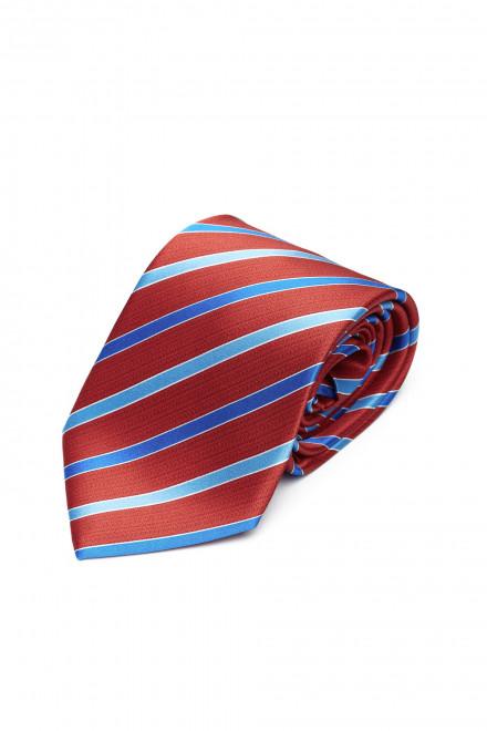 Шелковый галстук в полоску Dolcepunta