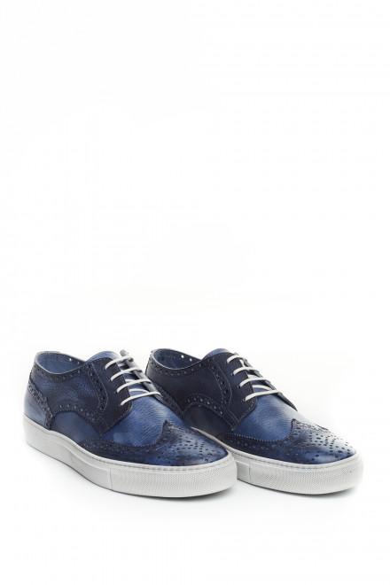 Туфли спортивного типа мужские синие Area Forte