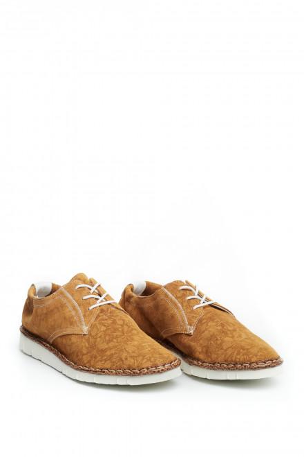 Туфли мужские текстильные в цветочный принт Watson&Parker