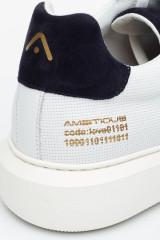 Сникеры белые кожаные Ambitious 3