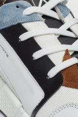 Кроссовки белые со вставками Ambitious 3