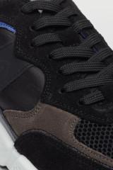 Кроссовки черные кожаные Ambitious  3