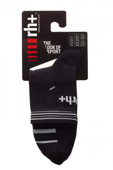 Спортивные носки для велосипеда черные Zero rh+